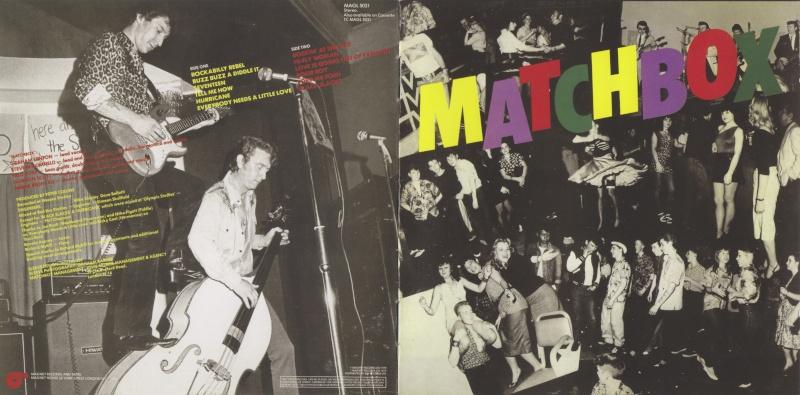 Matchbox - Black Slacks