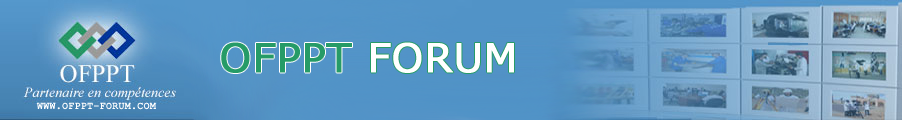 OFPPT FORUM