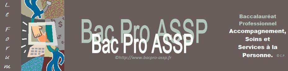 Le forum du Bac Pro ASSP
