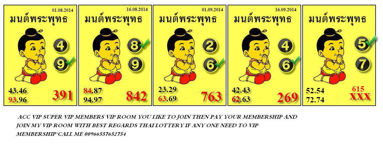 thai lotto acc vip