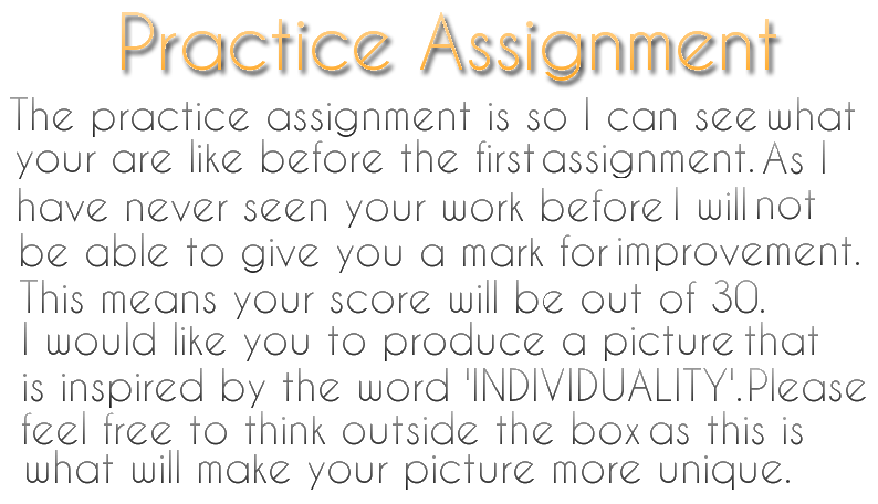 practice assignment 1