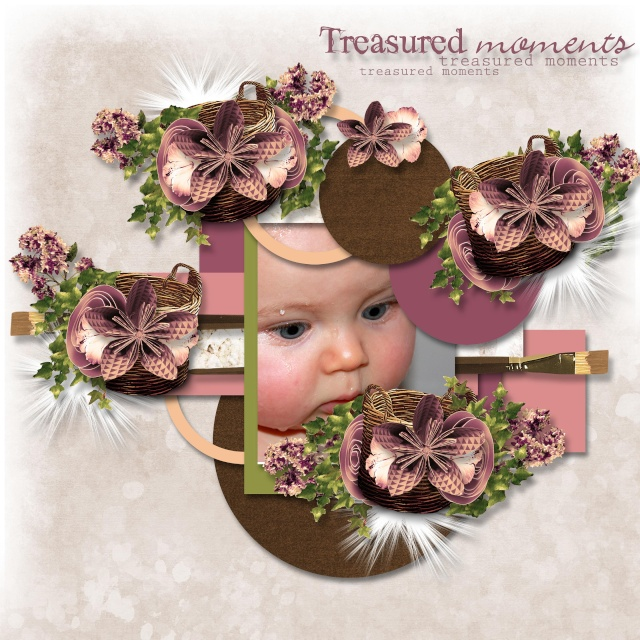 fleurs du mal kit simplette page lili