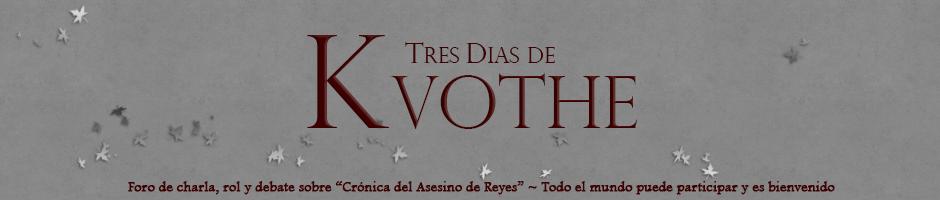 Tres días de Kvothe