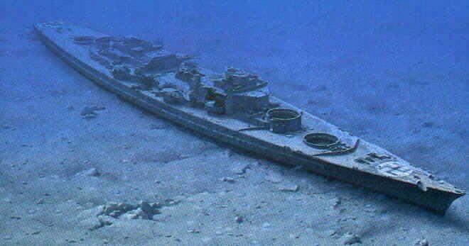 Bismarck vrak