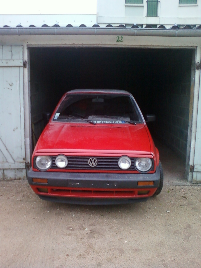 golf 2 la golf gti 16s kr de popeye en restauration. Black Bedroom Furniture Sets. Home Design Ideas