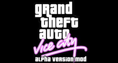 Grand Theft Auto Vice City: Alpha Version Mod