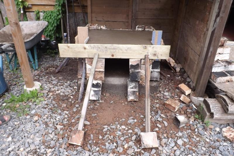réaliser sole brique réfractaire ferraillage