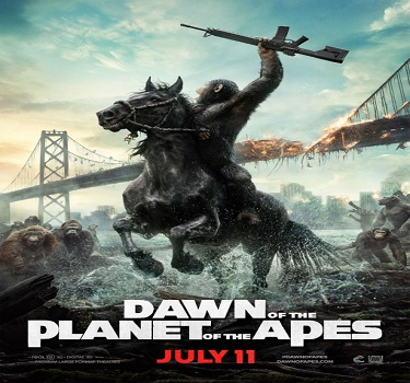 فلم Dawn of the Planet of the Apes 2014 مترجم بجودة HDRip