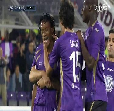 أهداف مباراة فيرونينا 3 - 0 انتر ميلان