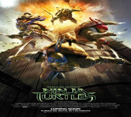 فلم Teenage Mutant Ninja Turtles 2014 مترجم بجودة HDRip