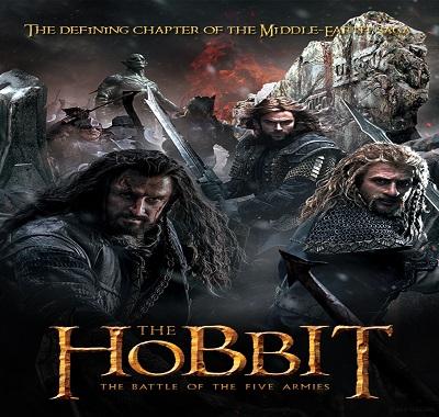 فلم The Hobbit The Battle of the Five Armies 2014 مترجم TS