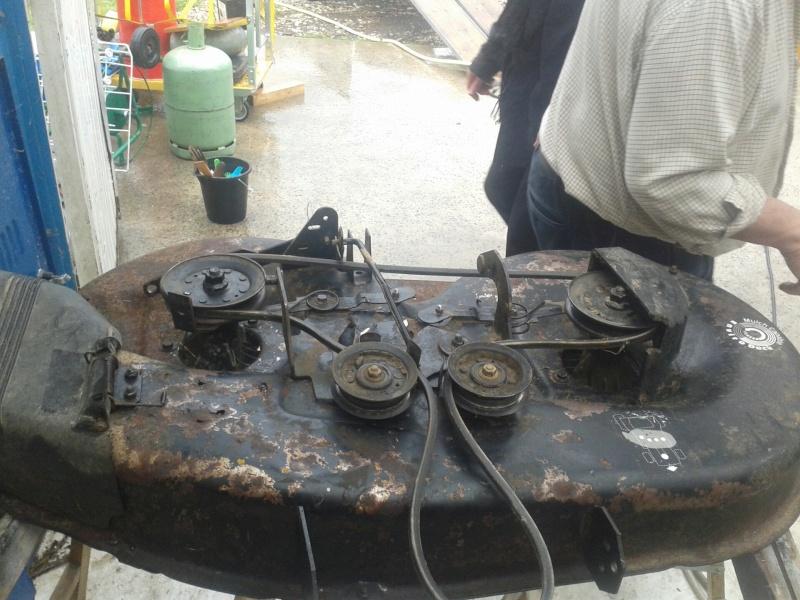 Montage courroie tracteur tondeuse best courroie de coupe - Courroie de coupe tracteur tondeuse mtd ...