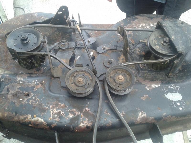 Tracteur tracteur tondeuse sworn - Courroie de coupe tracteur tondeuse mtd ...