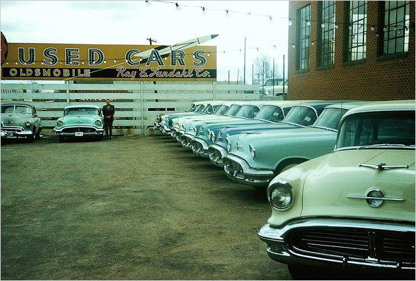 car showrooms dealerships concessionnaires automobiles 1950s 1960s page 2. Black Bedroom Furniture Sets. Home Design Ideas