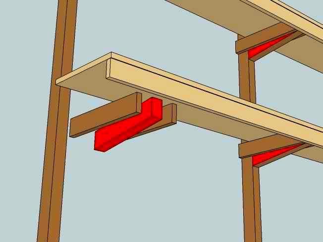 Des tag res robustes - Construire etagere garage ...