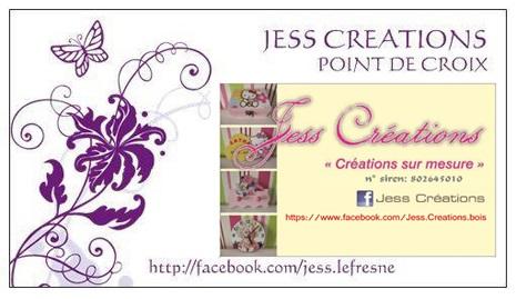 jess creations point de croix et bois