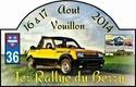 Rallye du Berry 16 & 17 aout 2014