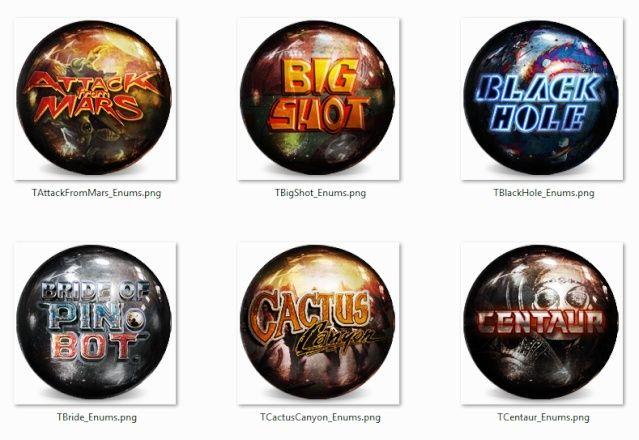 PINBALL ARCADE - [DL] Playfield Videos/Wheels /Mega Pack - PinballX