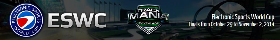 Trackmania� - Stadium - ESWC 2014