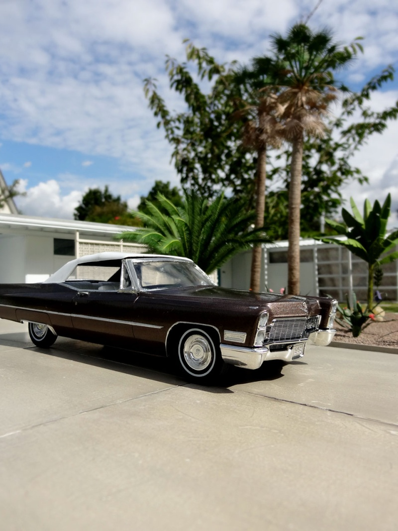1968 cadillac convertible moka cappuccino restauration. Black Bedroom Furniture Sets. Home Design Ideas