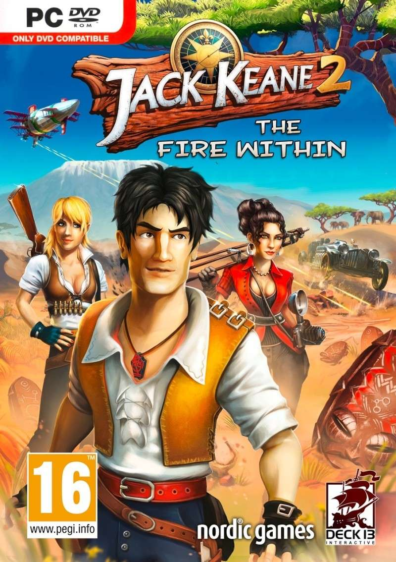 لعبة الاكشن والمغامرة الرائعة جدا Jack Keane The Fire Within Excellence