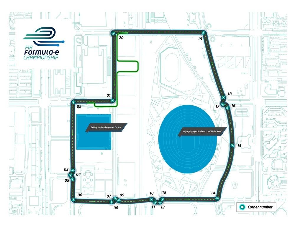 Circuit de Pékin, Formule E