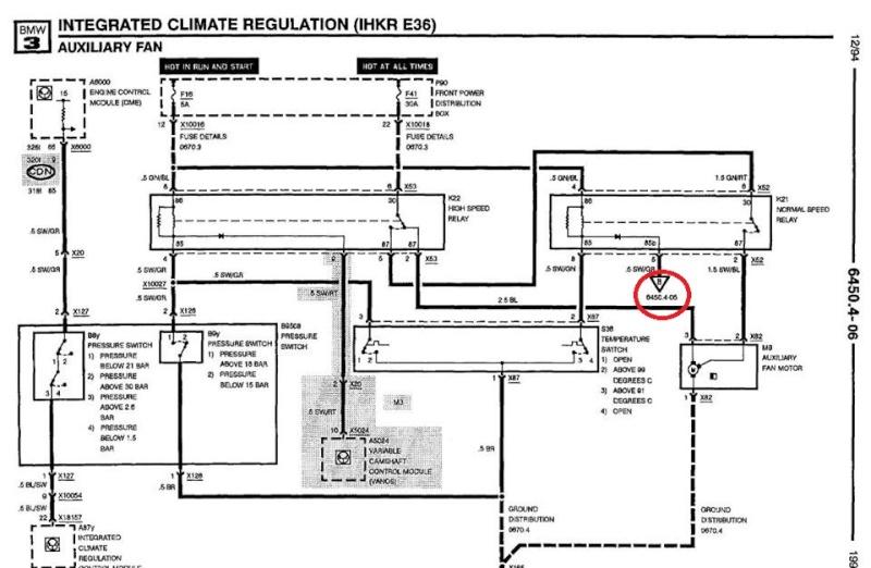 bmw e36 m3 3 0l an 1993   climatisation activ u00e9e en permanence