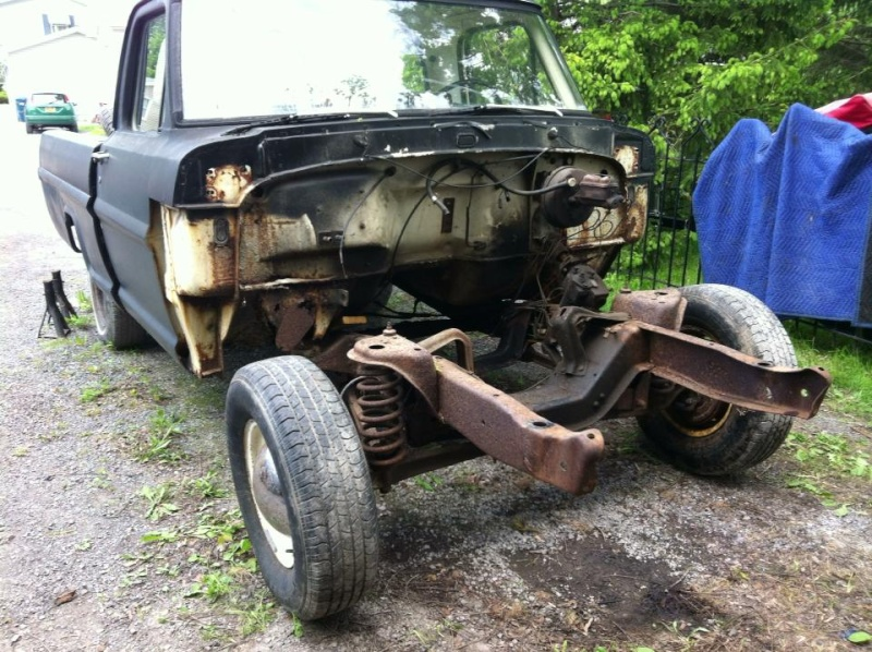 1971 f100, 4 6 Mark viii, CV, IRS - Ford Truck Enthusiasts Forums