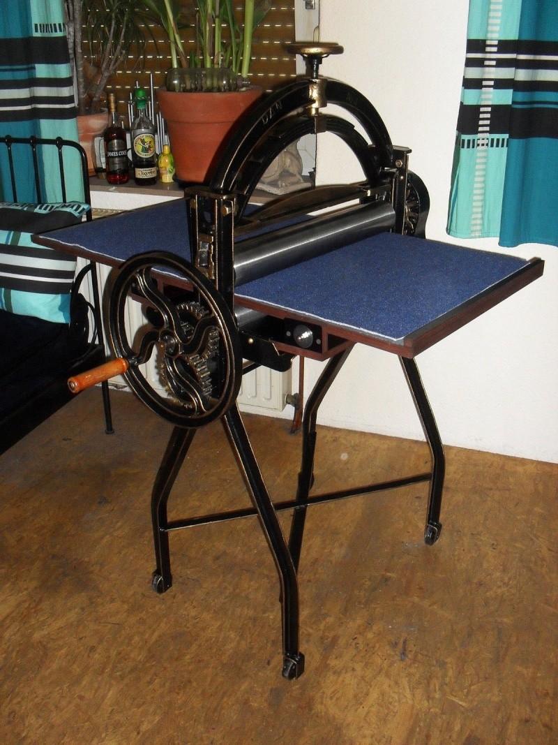 commentr imprimer sans presse et transformation en. Black Bedroom Furniture Sets. Home Design Ideas