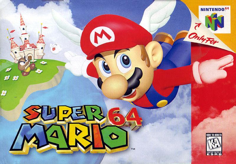 Super mario 64 (Nintendo 64)