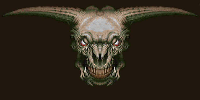 Icon of Sin - Doom 2 (PC DOS, PC Windows, Mac OS, GBA, Xbox LIVE ARCADE)