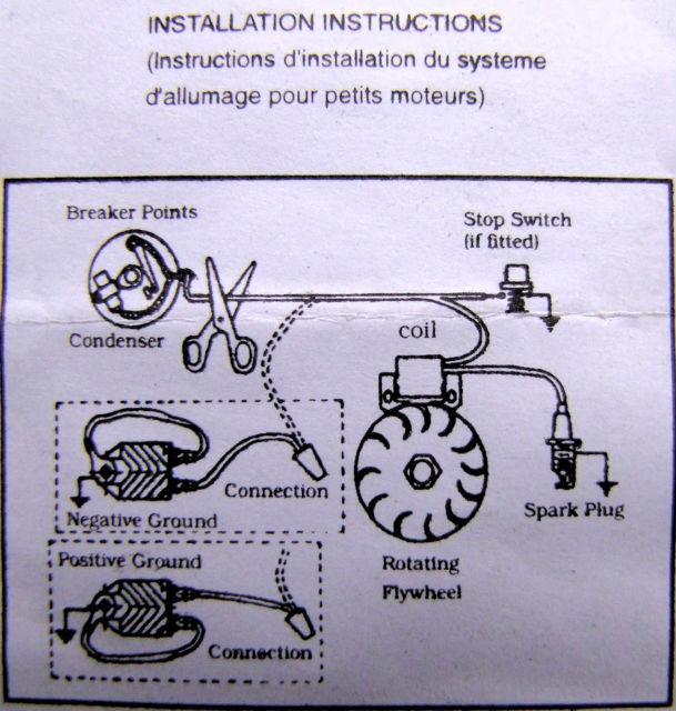 Rupteur et condensateur pour motofaucheuse motostandards for Comment tester un condensateur