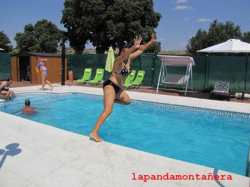 20140726 guadarrama ruta a cabeza lijar con piscina y for Piscina guadarrama