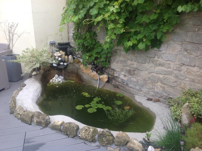 Destruction reconstruction mon bassin par pisodes 2 600l - Bordure bassin pierre rennes ...