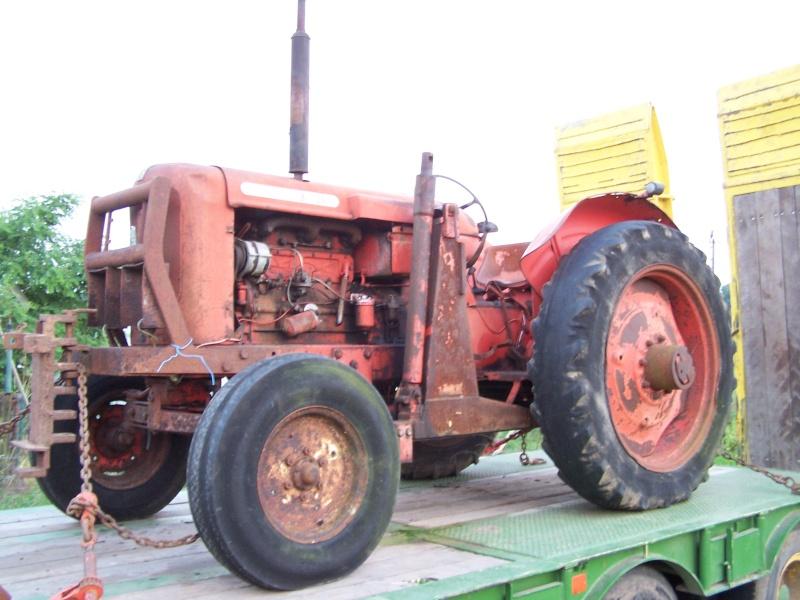Restauration nuffield 10 60 - Histoire du tracteur ...