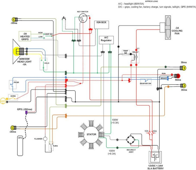 wires_10 need help with wires turn horn light switch baja designs xr650r wiring diagram at nearapp.co