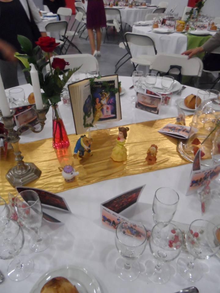 D coration mariage disney - Centre de table de cuisine ...