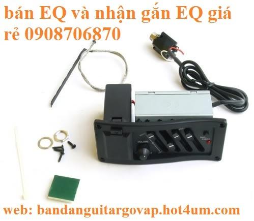 Nhận gắn EQ, Pickup, Equalizer và sửa chữa đàn guitar thùng giá rẻ gò vấp hcm - 5