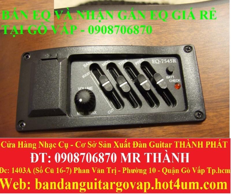 Nhận gắn EQ, Pickup, Equalizer và sửa chữa đàn guitar thùng giá rẻ gò vấp hcm - 4