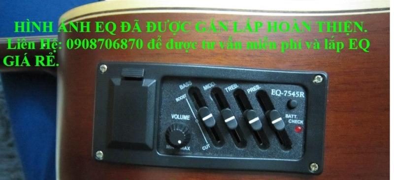 Nhận gắn EQ, Pickup, Equalizer và sửa chữa đàn guitar thùng giá rẻ gò vấp hcm - 3