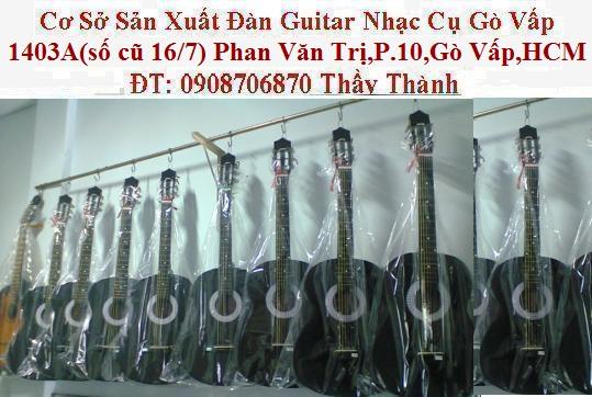 Đàn guitar gỗ hồng đào, còng cườm, điệp, sồi pháp giá rẻ gò vấp hcm - 6