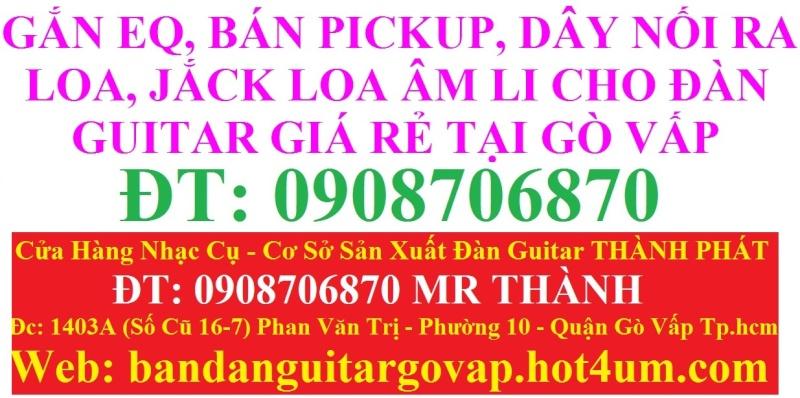 Nhận gắn EQ, Pickup, Equalizer và sửa chữa đàn guitar thùng giá rẻ gò vấp hcm - 2