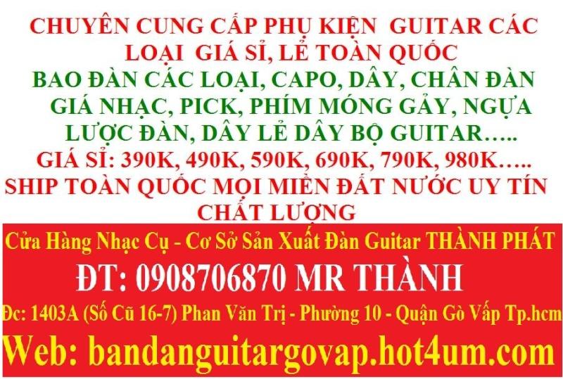 Nhận gắn EQ, Pickup, Equalizer và sửa chữa đàn guitar thùng giá rẻ gò vấp hcm - 14