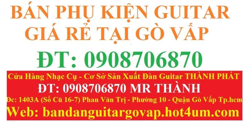 Nhận gắn EQ, Pickup, Equalizer và sửa chữa đàn guitar thùng giá rẻ gò vấp hcm - 9