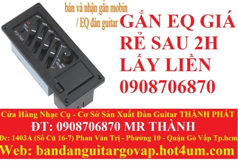 Nhận gắn EQ, Pickup, Equalizer và sửa chữa đàn guitar thùng giá rẻ gò vấp hcm - 12