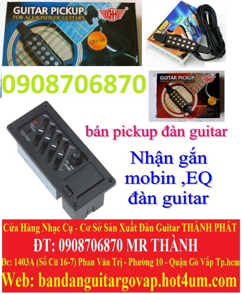 Nhận gắn EQ, Pickup, Equalizer và sửa chữa đàn guitar thùng giá rẻ gò vấp hcm - 13