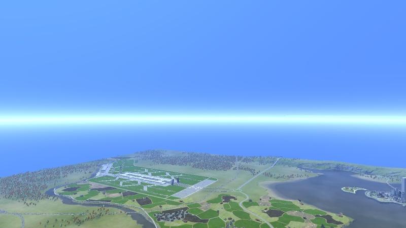 image Aéroport International d'Okasa Sud