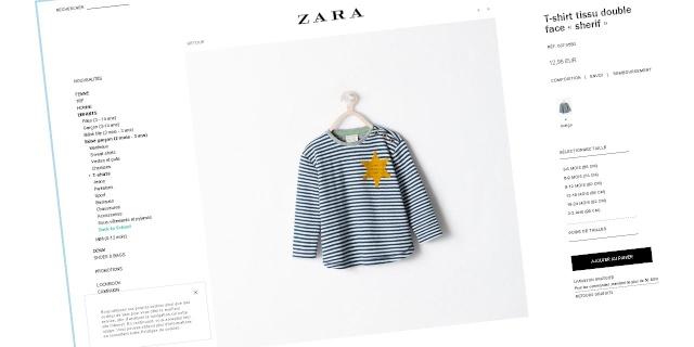 Un vêtement du meilleur goût pour vos bambins, merci Zara !