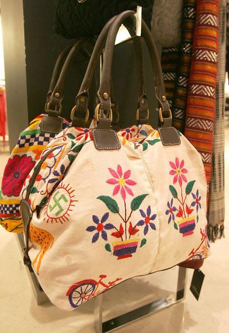 Le sac avec Swastikas de Zara.