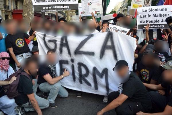 La Gaza Firm pose avec les fachos de Neturei Karta.
